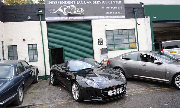 Years of experience in Jaguar servicing